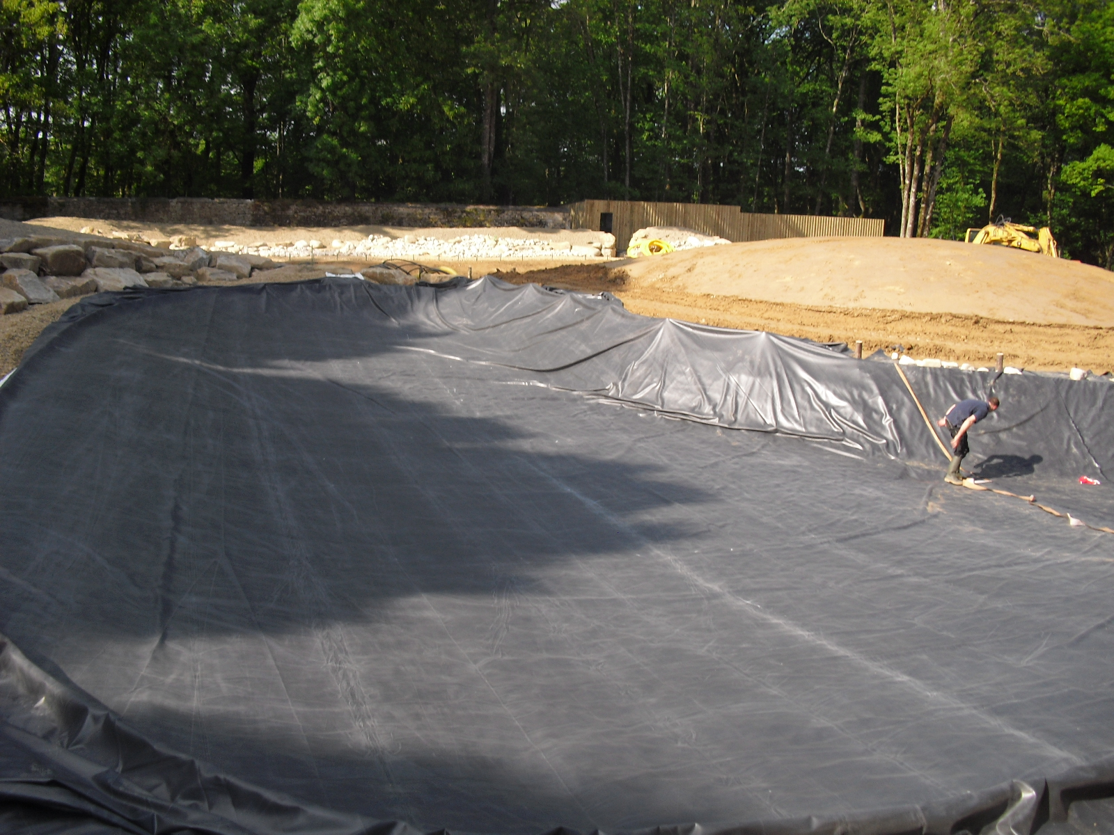 B che epdm en m pour l tanch it du bassin de jardin for Epdm firestone bassin