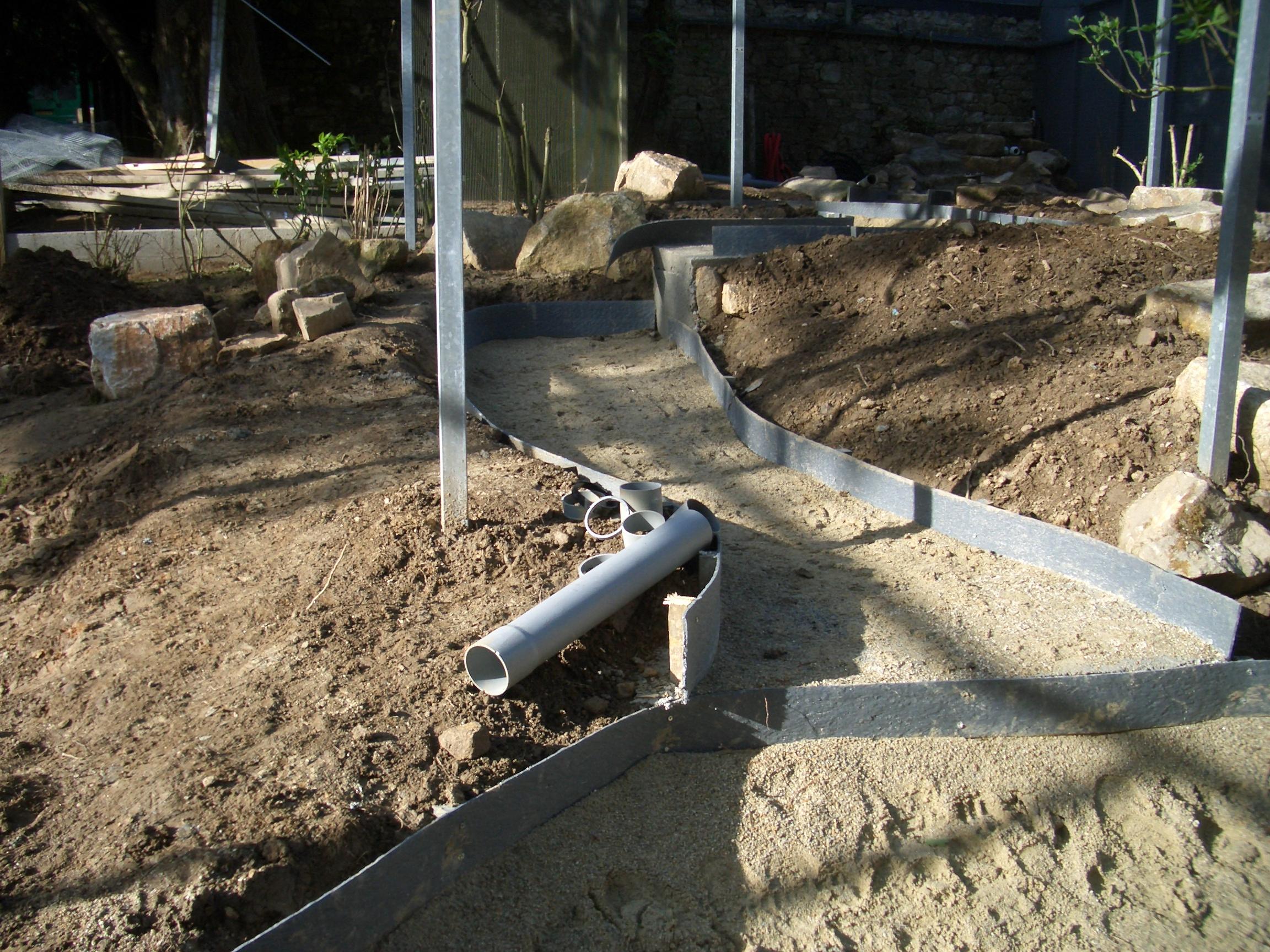 Construction Bassin Koi – Design à la maison